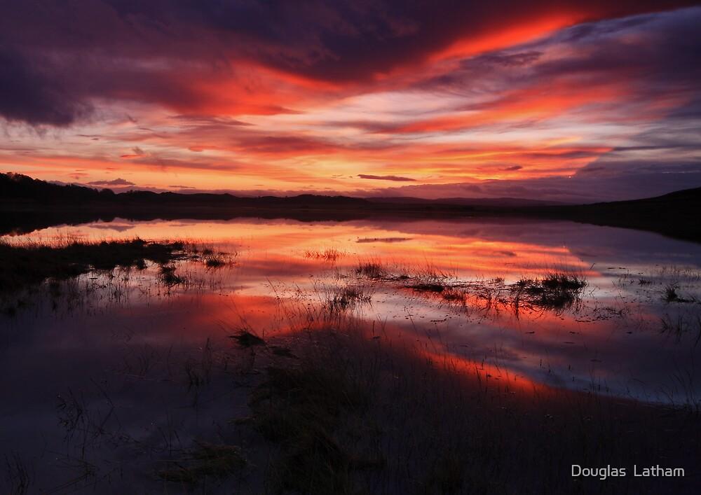 Fire in the Sky - Lochdon - Mull by Douglas  Latham