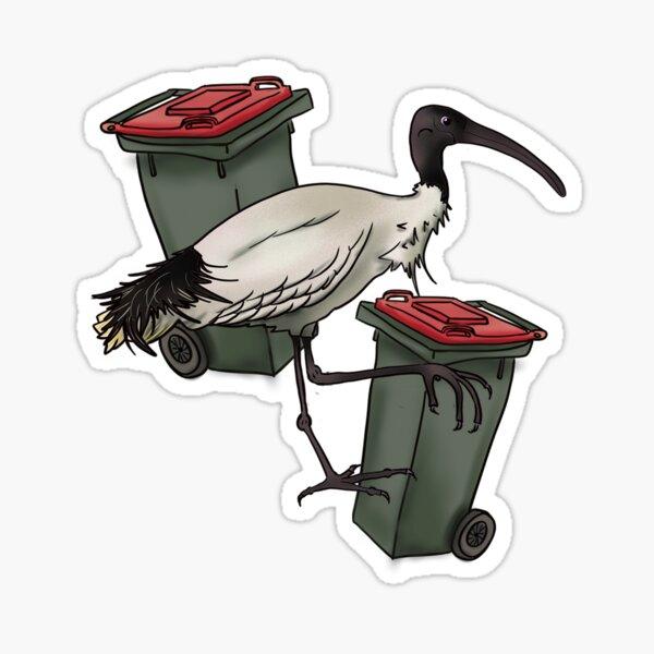 Lone Bin Chicken Sticker