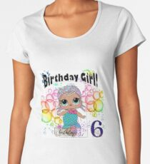 LOL Surprise Merbaby - 6th Birthday Women's Premium T-Shirt