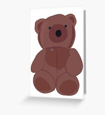 Beary chest Greeting Card