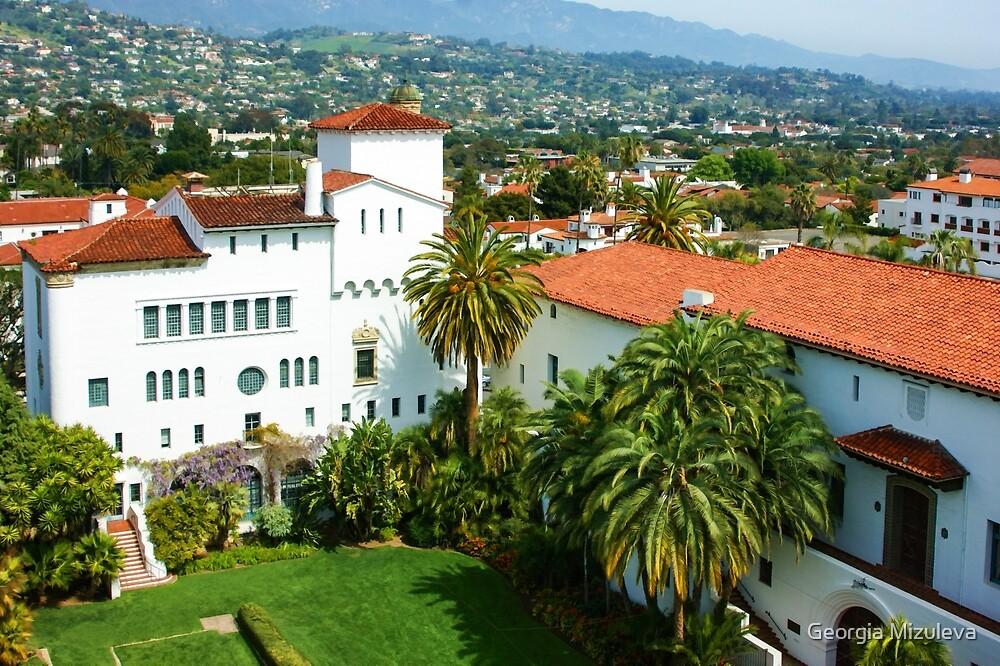 Santa Barbara California Fantastic Spanish Colonial Revival