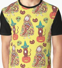 Halloween seamless pattern Graphic T-Shirt
