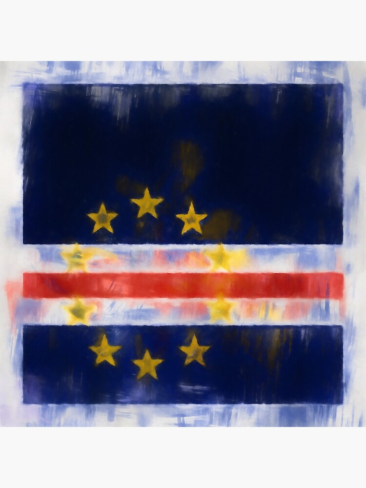 Cape Verde Flag Reworked No. 2, Series 1 by 8th-and-f