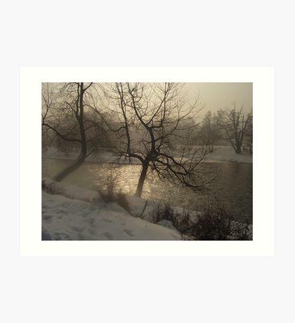 The River Iskar  Art Print