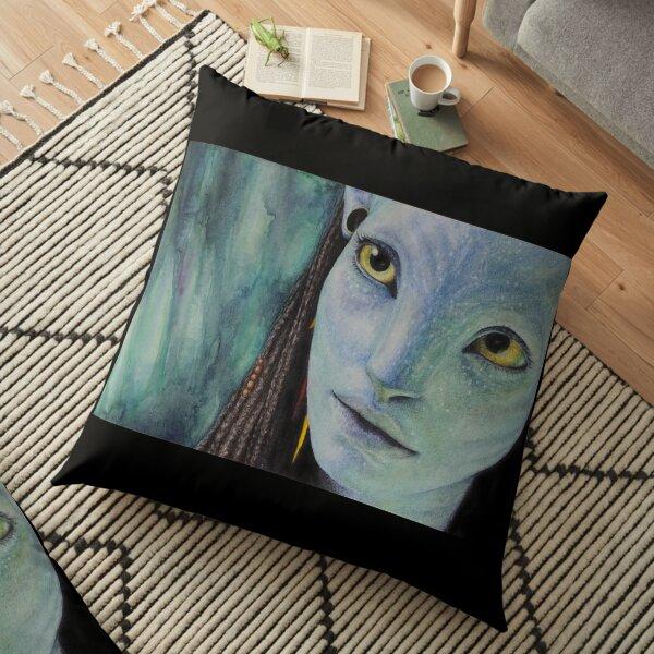 Avatar - Neytiri  Floor Pillow