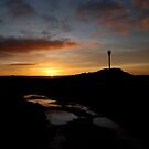 Sunset at Danby Beacon by dougie1