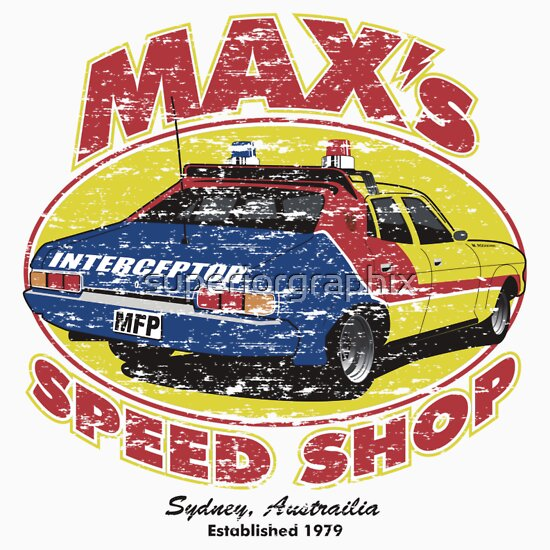 TShirtGifter presents: Mad Max's Speed shop