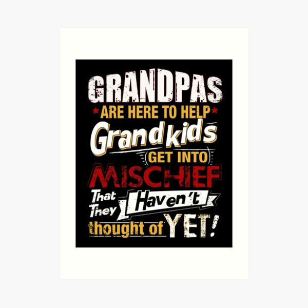 Personalised Gifts For Grandad Grandpa Grandfather Papa Pops Daddy Young Fathers Day Birthday Christmas Xmas From Grandson Daughter Bump Grandchildren Kids Newborn Unique Ideas Beautiful Flowers Print