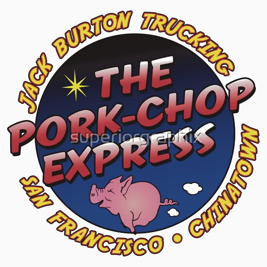TShirtGifter presents: Pork Chop Express Jack Burton Trucking