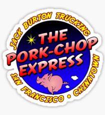 Pork Chop Express Jack Burton Trucking Sticker