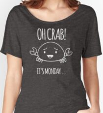 Crabby Day YU288 Best Trending Women's Relaxed Fit T-Shirt