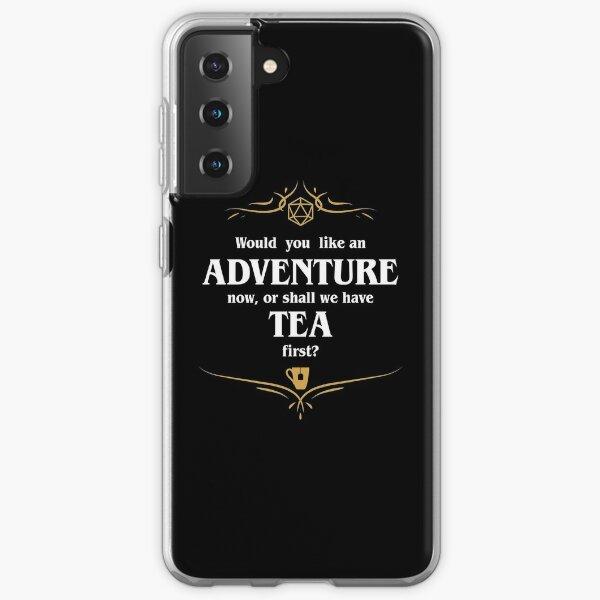 Adventure or Tea Tabletop RPG Addict Samsung Galaxy Soft Case