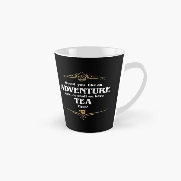 Adventure or Tea Tabletop RPG Addict Tall Mug