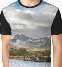 Mountain Landscape Snowdonia Graphic T-Shirt