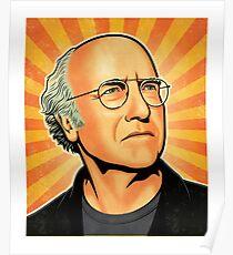 Larry David Comedian Poster