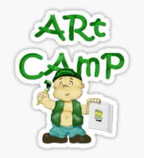 Art Camp Sticker