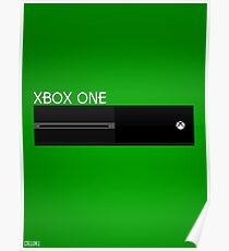 Simple Xbox One Design Poster