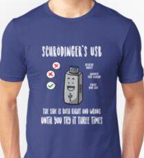 Schrödinger's USB Unisex T-Shirt