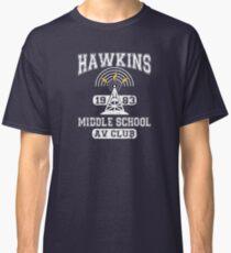 Stranger Things Tee - Hawkins AV Club Classic T-Shirt