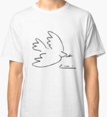 Picasso-Friedenstaube Classic T-Shirt
