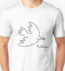 Picasso Peace Dove Unisex T-Shirt