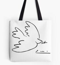 Picasso Peace Dove Tote Bag