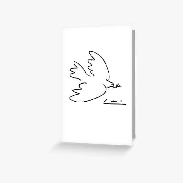 Picasso Peace Dove Greeting Card