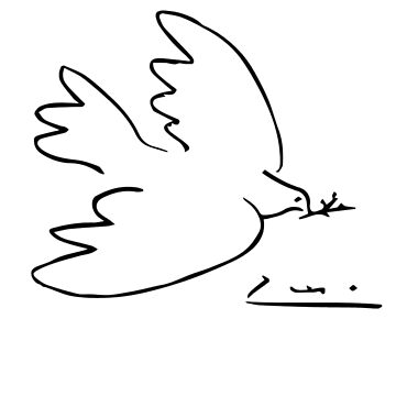 Picasso Peace Dove by teachertees