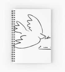 Picasso Peace Dove Spiral Notebook