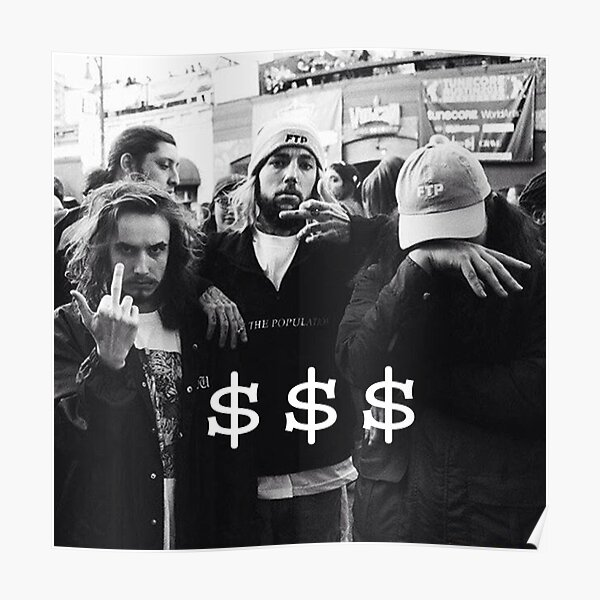 $$$ SUICIDEBOYS x POUYA Poster
