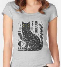 Magic Cat Women's Fitted Scoop T-Shirt