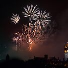 Edinburgh Castle Firework by Jasmin Bauer