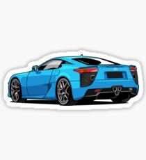 Lexus LFA super car Sticker