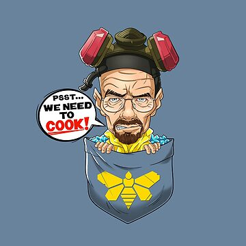 Pocket Heisenberg / Walter White by Purrdemonium