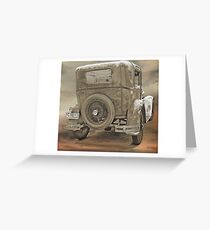 Model A Greeting Card