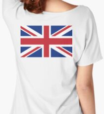 Union Jack, Flag of the United Kingdom, Britain, British flag, Pure and Simple Women's Relaxed Fit T-Shirt