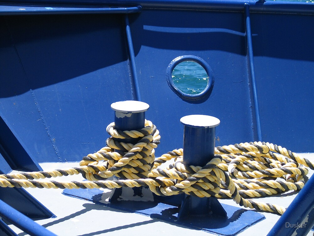 Ropes and blue by Dusker