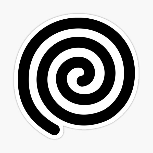 Spiral, helix, scroll, loop, volute, spire, #Spiral, #helix, #scroll, #loop, #volute, #spire  Sticker