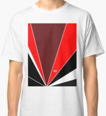 Red Art Deco Abstract #minimal #christmas #design #kirovair #decor #buyart Classic T-Shirt