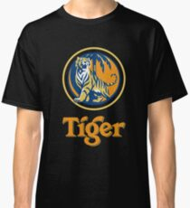 Tiger Beer Located On Singapore Classic T-Shirt