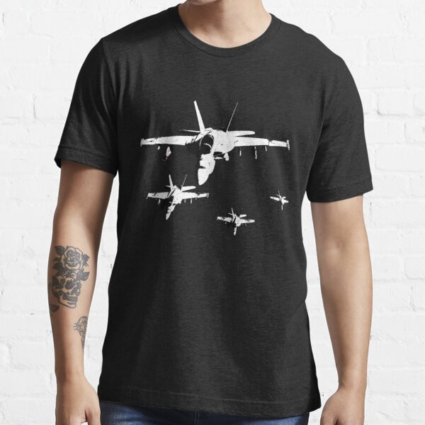 F-18 Fighter Jets in Formation Essential T-Shirt