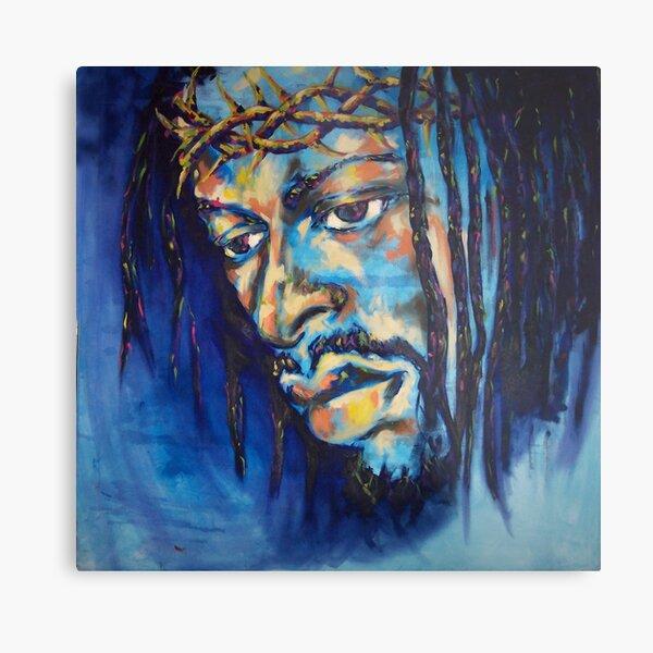 Black Jesus I Metal Print