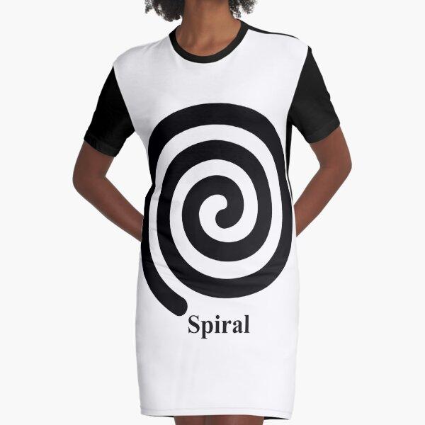 Spiral 2 Graphic T-Shirt Dress