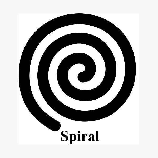 Spiral 2 Photographic Print