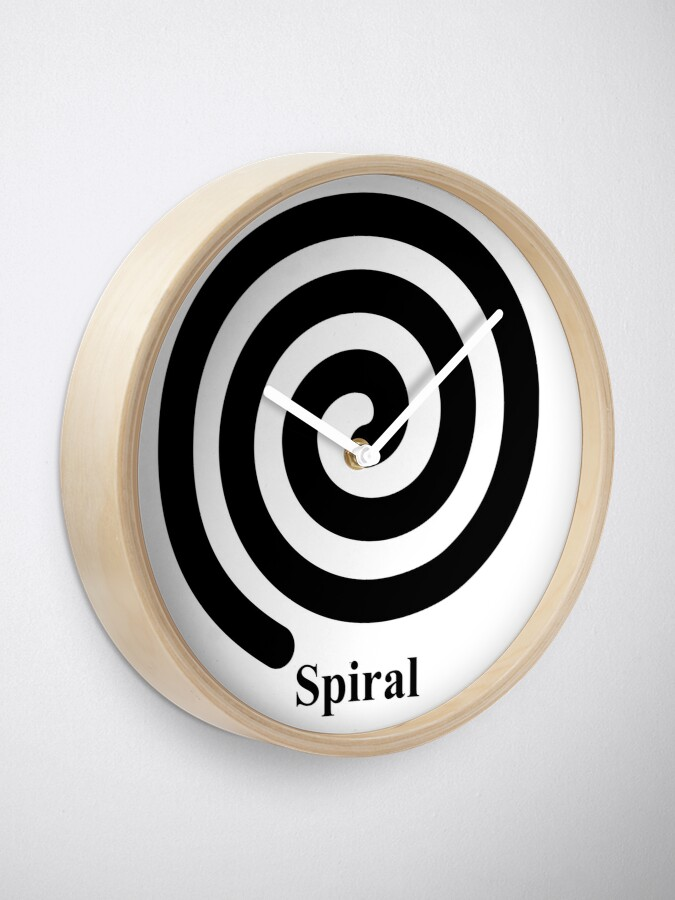 Alternate view of Spiral 2 Clock