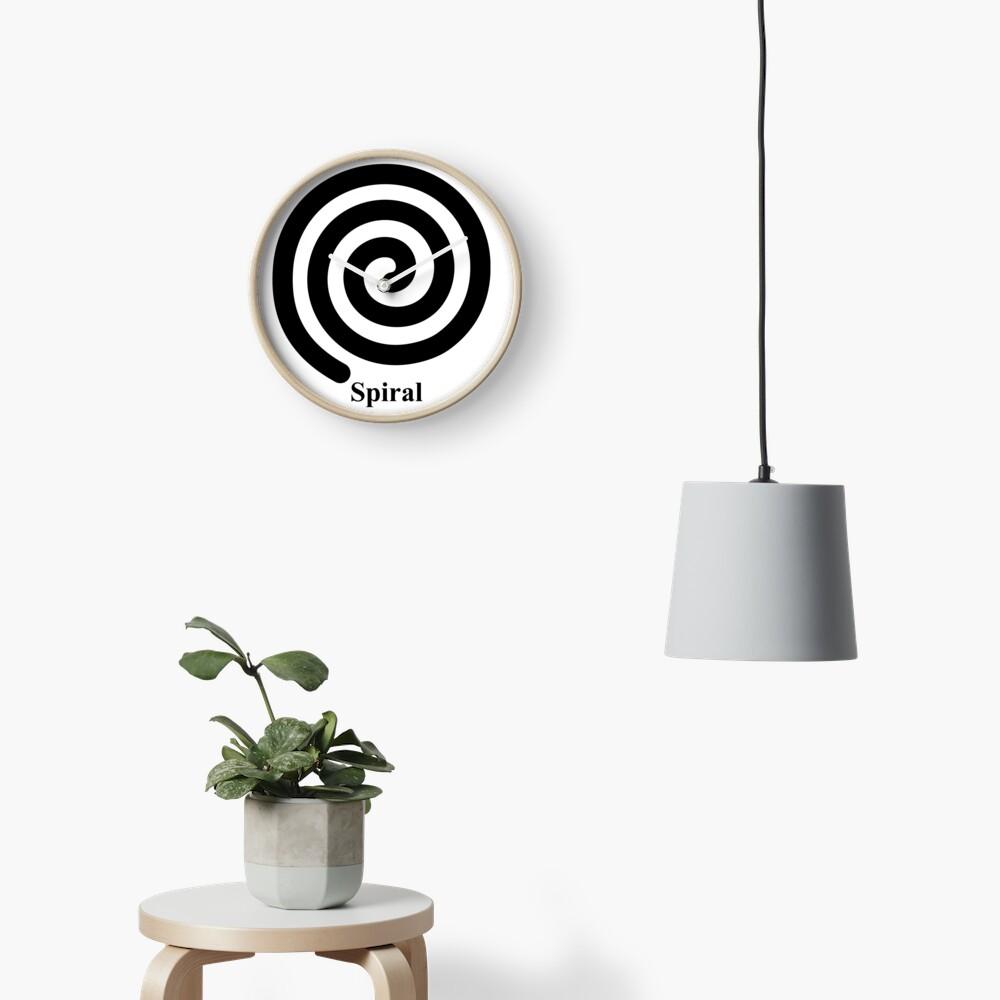 Spiral 2 Clock