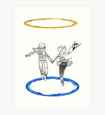 Scott Pilgrim Portal Infinite Loop Art Print