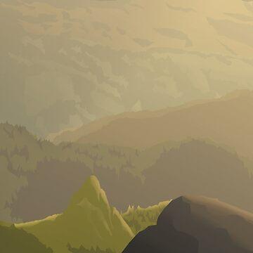 Hills by indigoflame