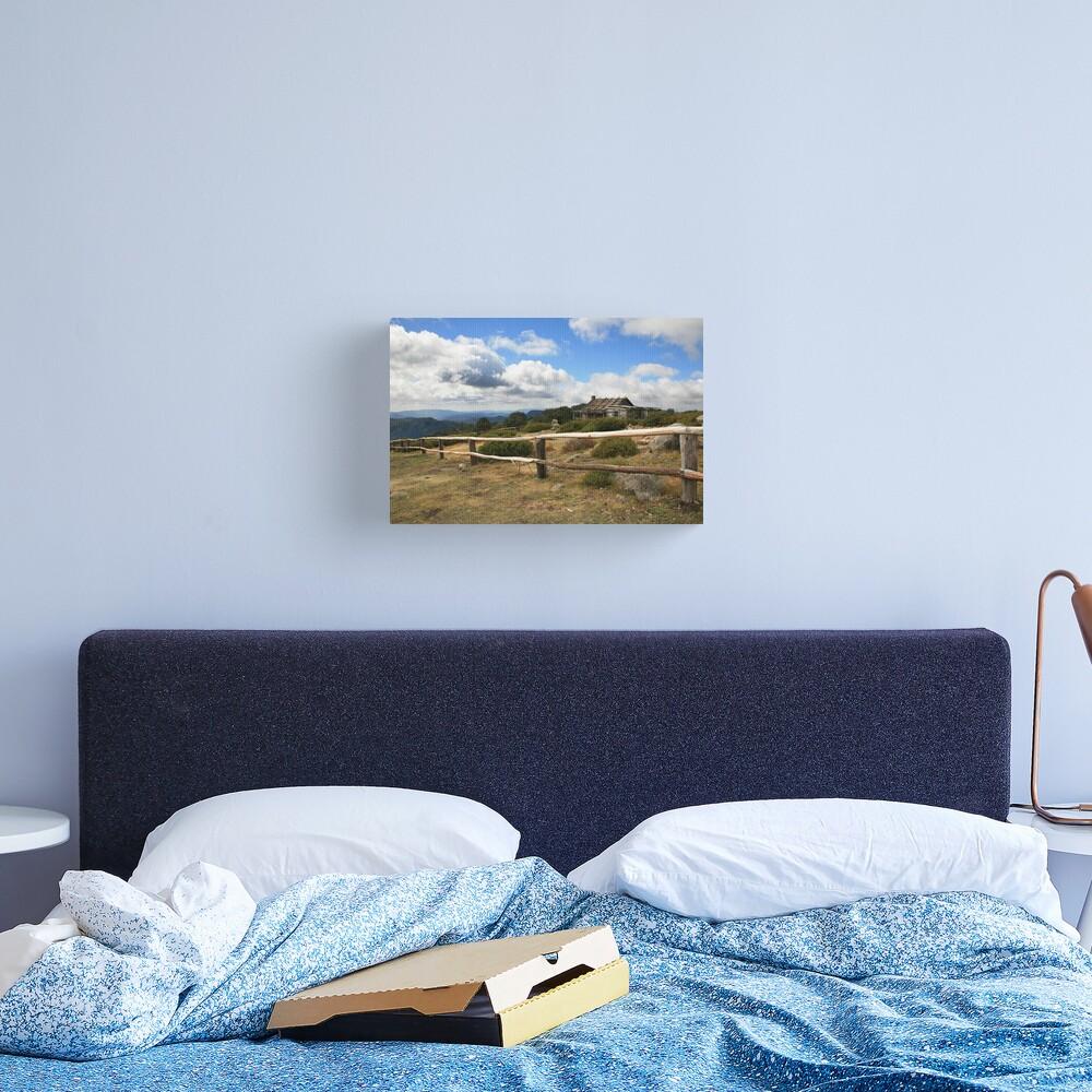 Autumn Afternoon at Craig's Hut, Mt Stirling, Australia Canvas Print