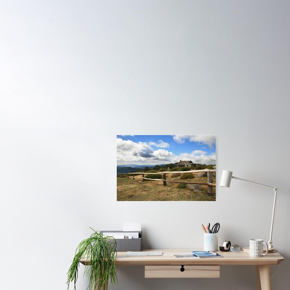 Autumn Afternoon at Craig's Hut, Mt Stirling, Australia Poster